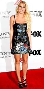 Britney Spears at an X Factor Screening in Los Angeles