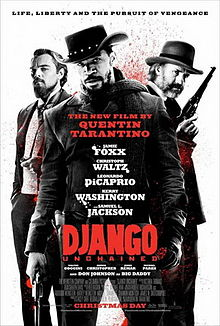 Django Unchained hits theaters Christmas Day