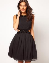 """""""Embellished party dress"""" Asos, $83.55"""