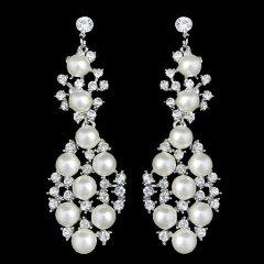 """""""Vingtage style Swarovski crystal earrings""""Etsy, $19.99"""