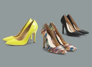 Pumps in Sulfur Spring, Nolita, and Black $39.99