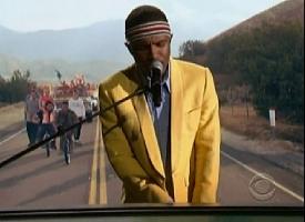 """Frank Ocean performs """"Forrest Gump"""""""