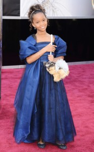Quvenzhane Wallis at the 2013 Oscar's