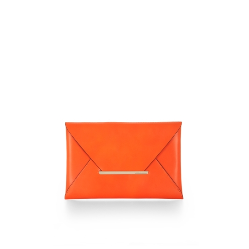 Harlow Leather Envelop Clutch BCBG, $148