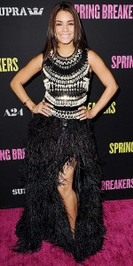 Vanessa Hudgens at Spring Breakers Premiere in Hollywood