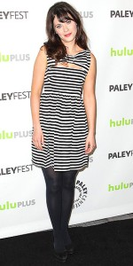 Zooey Deschanel at PaleyFest event in LA