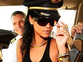 Rihanna on her 777 Tour