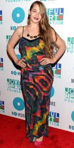 Jemima Kirke at Joyful Heart Foundation Gala