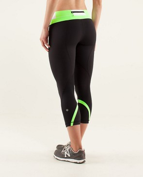 Run Inspire Crop II lululemon, $86