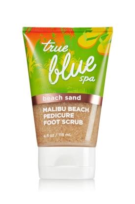 Malibu Beach Pedicure Foot Scrub Bath & Body Works, $15