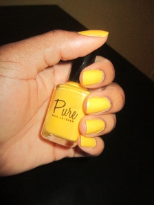 Sunny Disposition Manicure