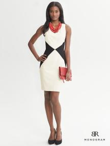 Diamond Dress Banana Republic, $150
