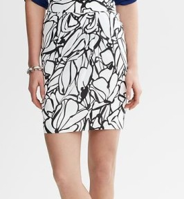 Printed Tulip Skirt Banana Republic, $89.50