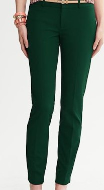 Sloan Fit Ankle Pant Banana Republic, $89.50