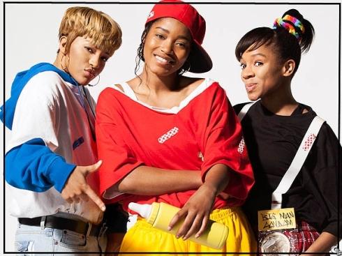 Drew Sidora, Keke Palmer and Lil' Mama as TLC