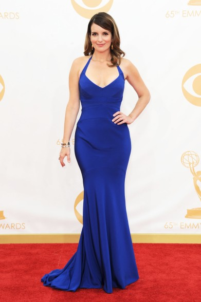 Tina Fey in Narciso Rodriguez