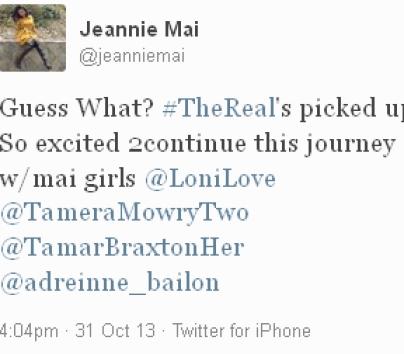Jeannie-Mai-The-Real-Return-Tweet