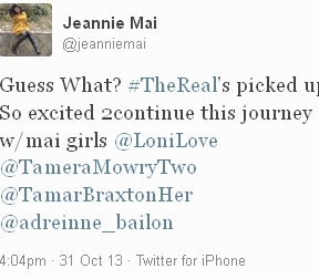 Jeannie-Mai-The-Real-Return-Tweet
