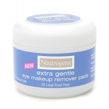 Extra Gentle Eye Makeup Remover Pads Neutrogena, $7.99