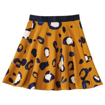 Animal Print Skirt  Phillip Lim x Target