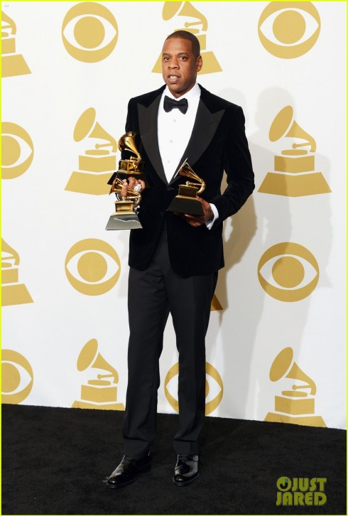 Jay Z at the 2013 Grammys